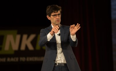 THINK 18 – Nicholas Thompson, Editor-in-Chief of Wired Magazine, Provides A Look Into the Future of Technology